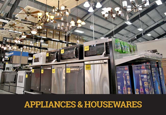 Appliances and housewares